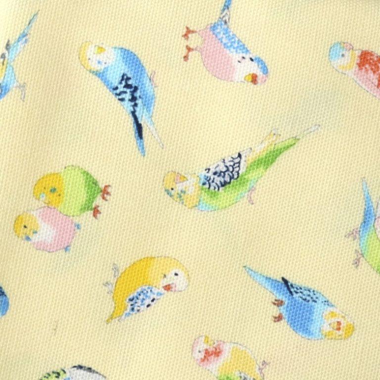 MF1001 Parakeet bird Japan fabric wholesale