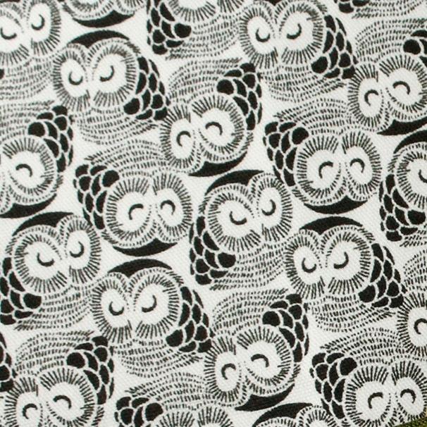 MF1004 OWL lucky charm Japanese fabric bird