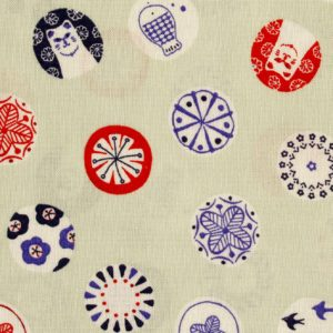 MF1005 CAT lovely printed Japanese fabric sheeting