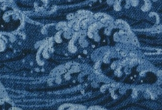 850350-1 Like Denim wave Japan fabric sell by the roll (Sevenberry)