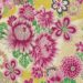 No.1038 Chirimen printed Kanoko-shibori pattern flowers fabric wholesale 12M