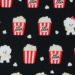 AP11404 Bichon Frise with Popcorn dog printed fabric(COSMO textile)